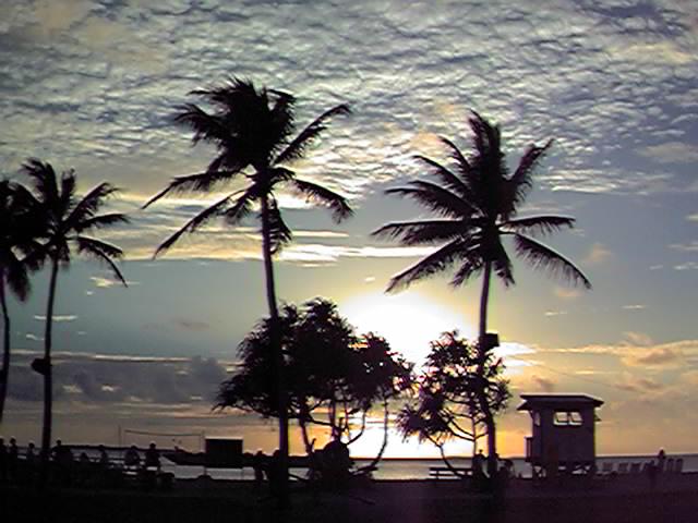 Kwaj Sunset 1998